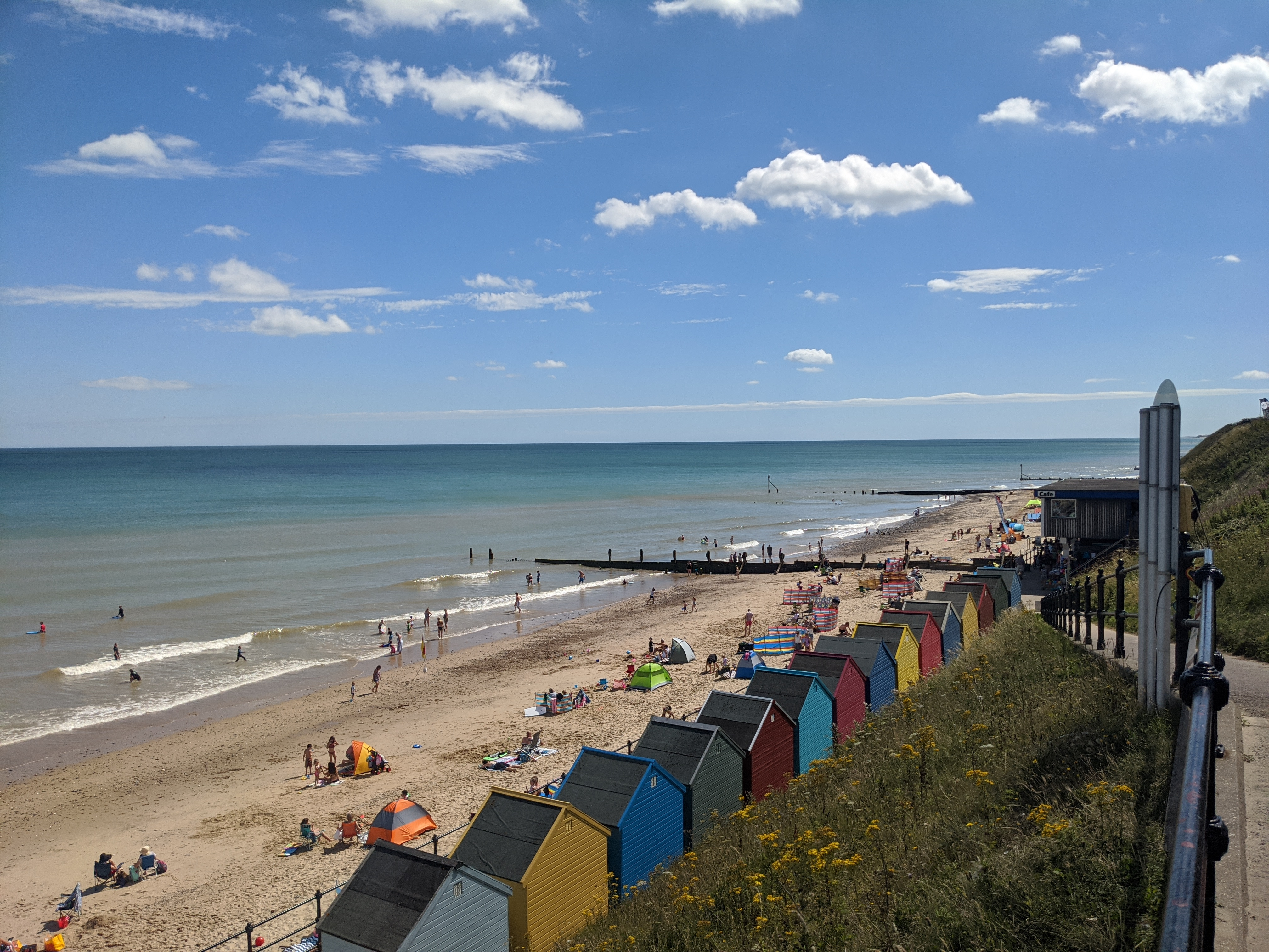 Seaside at Mundesley